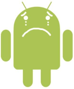 Aplicación perdida de Android