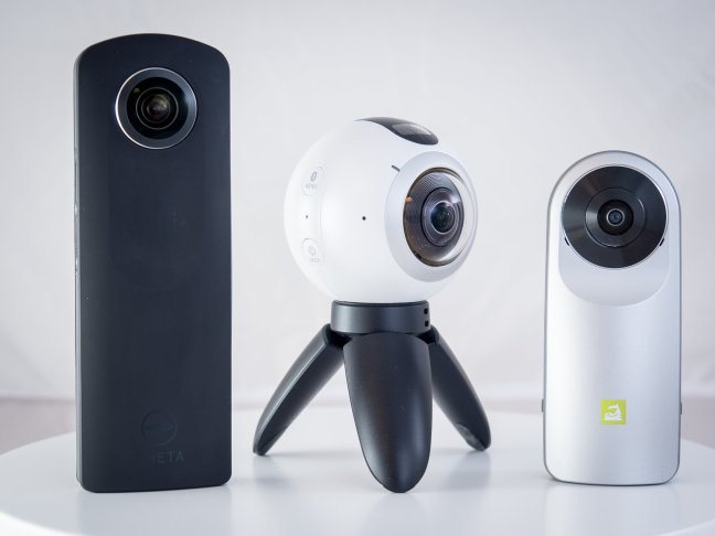 three-cameras-1 Best 360-degree Cameras Android