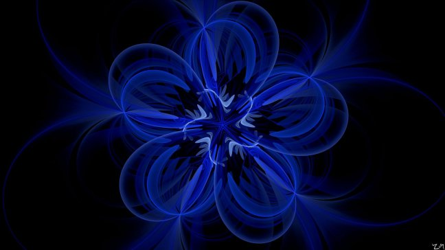 the_blue_flower_by_zmastah94-d6oukjf Really blue wallpapers for a Really Blue Pixel Android
