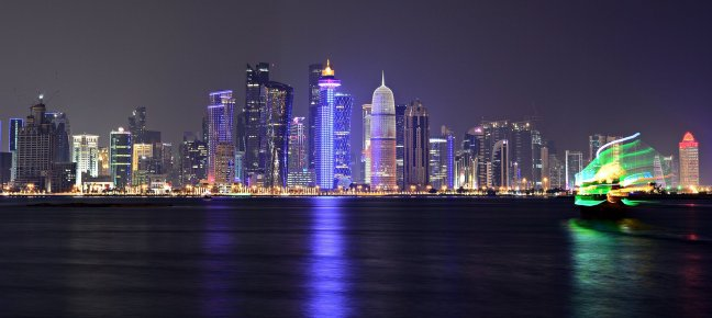 doha_cityscape Get some cityscape on your home screen with these wallpapers Android
