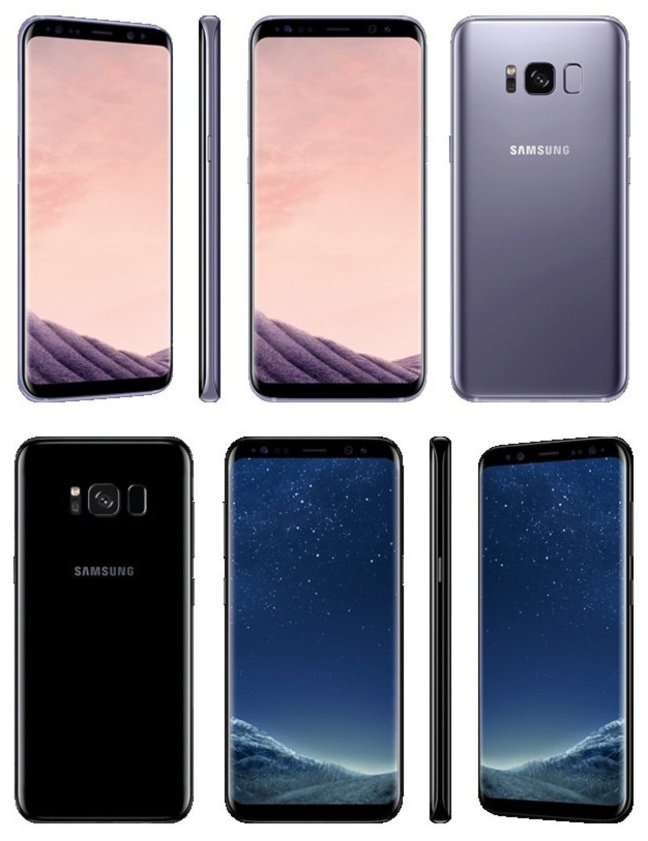 galaxy-s8-leak-evleaks Right here's our best view yet of the Galaxy S8 Android