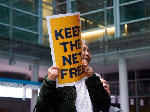 Protect Net Neutrality rally, San Francisco