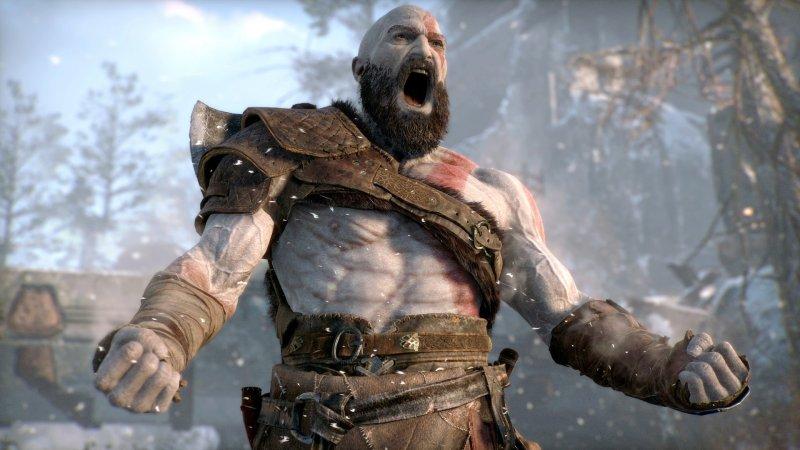 Kratos screaming