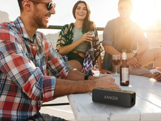 black anker soundcore 2 summer party