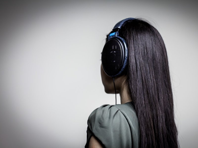 Sennheiser HD600 open-back headphones