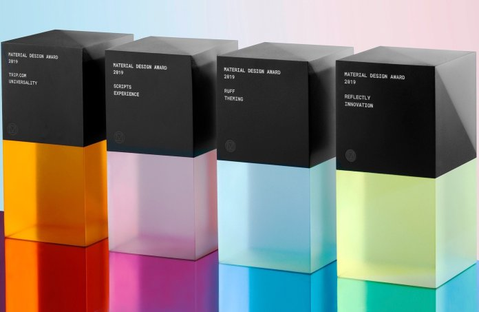 Here are the winners of the 2019 Google Material Design Awards