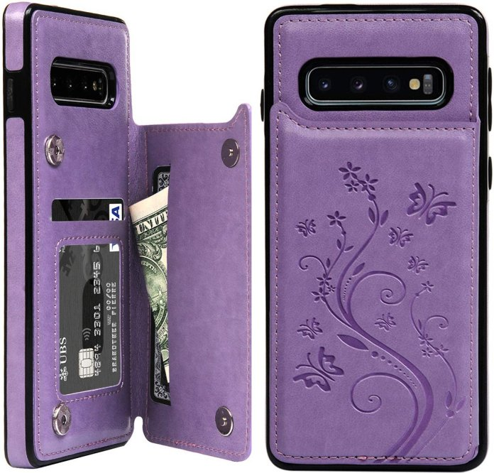These are the best wallet cases for the Galaxy S10