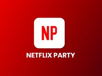 Netflix party extension