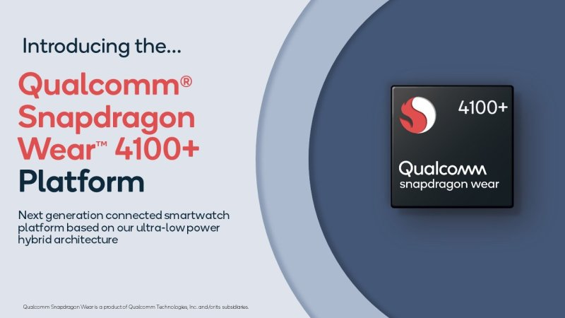 Qualcomm Snapdragon Wear 4100+
