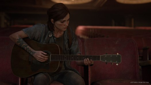 The Last Of Us Part Ii Ellie Playing Guitar