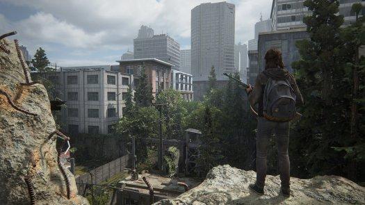 The Last Of Us Part Ii Seattle Ruins