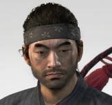 Ghost Of Tsushima Kensei Headband Cropped