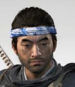 Ghost Of Tsushima Sago Blue Headband Cropped