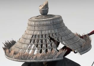 Ghost Of Tsushima Wanderers Straw Hat Cropped