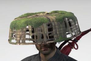 Ghost Of Tsushima Wood Spirit Straw Hat Cropped