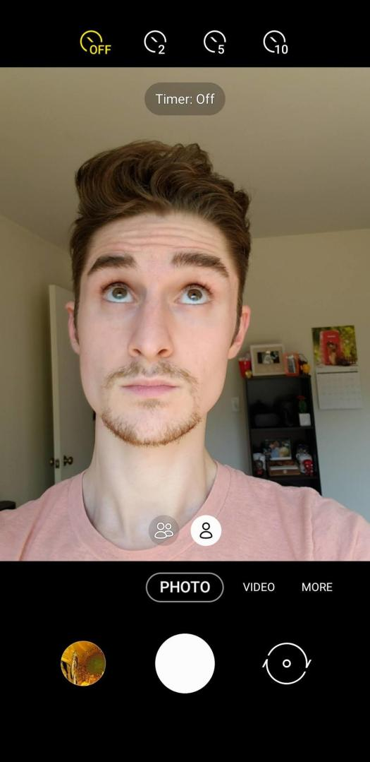 How to take a hands-free selfie on your Samsung Galaxy S or Note phone