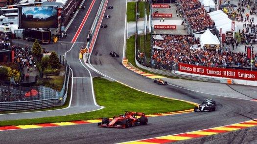 Belgian F1 Race