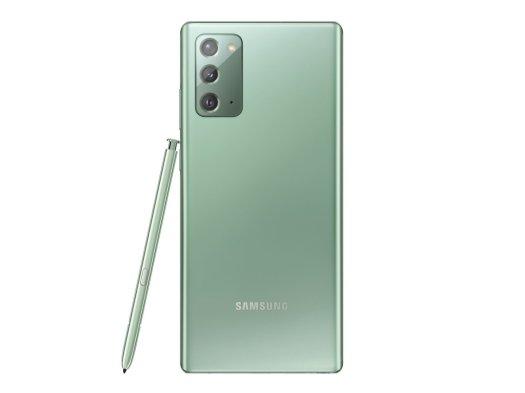 Galaxy Note 20 Mystic Green