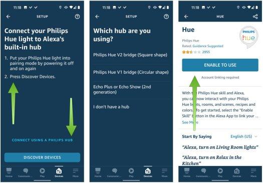 Alexa App Hue Bulb Step 2