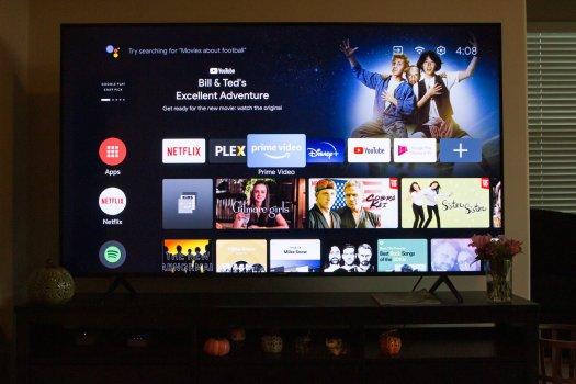 Hisense H65G Series Android TV Home Screen