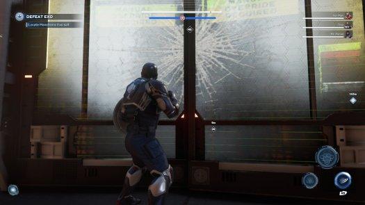 Marvel's Avengers Captain America Door