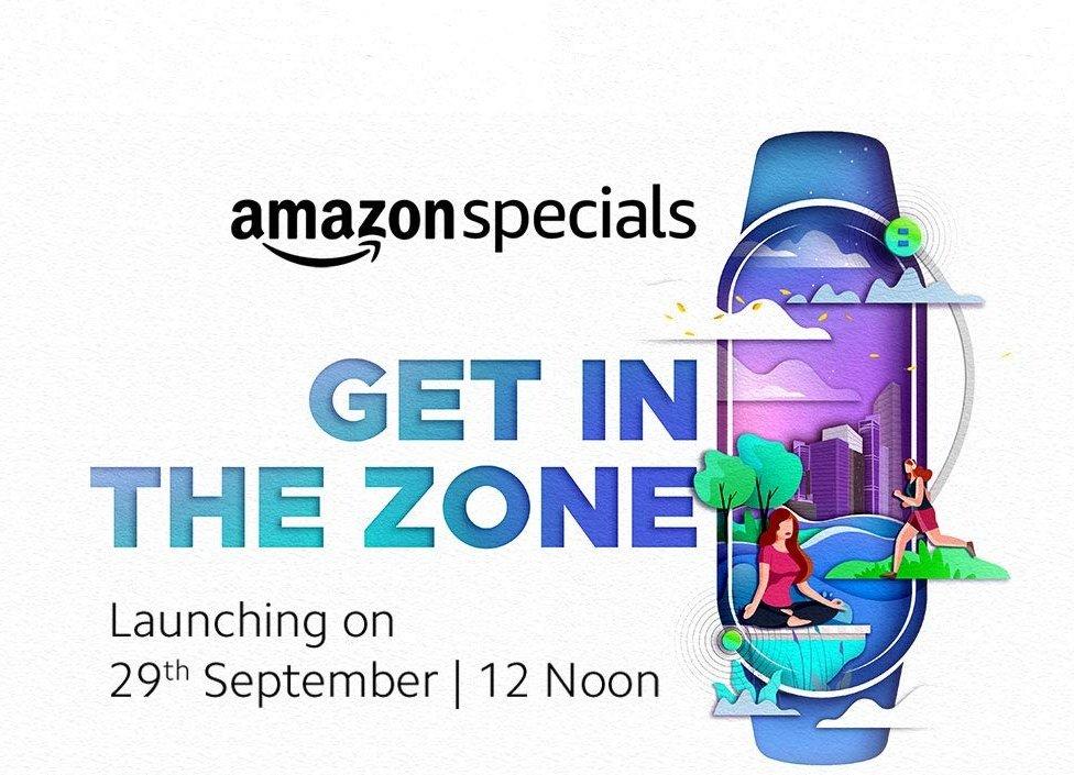 Mi Band 5 Teaser Amazon India