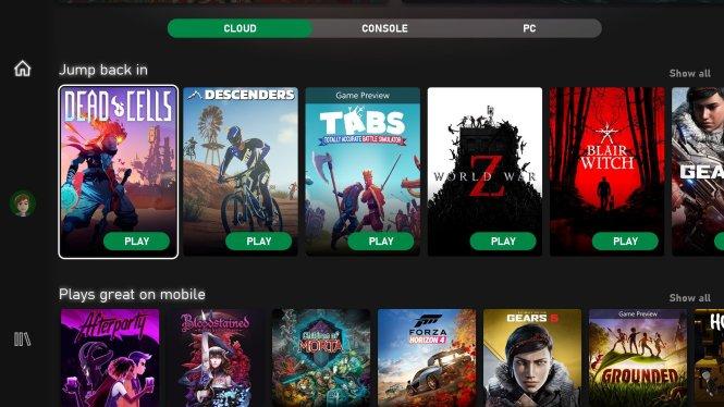 Game Pass cloud games