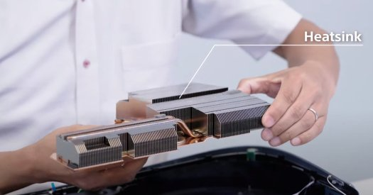 PS5 heatsink
