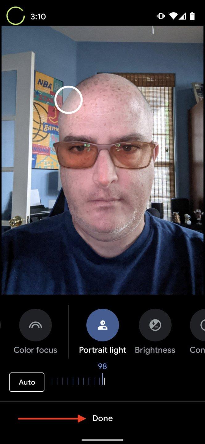 Google Photos how to portrait lighting 4