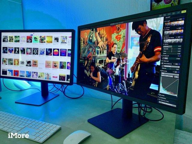 LG UltraFine 4K Display Hero