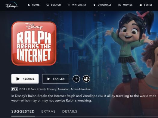 Disney Plus Groupwatch Screenshot