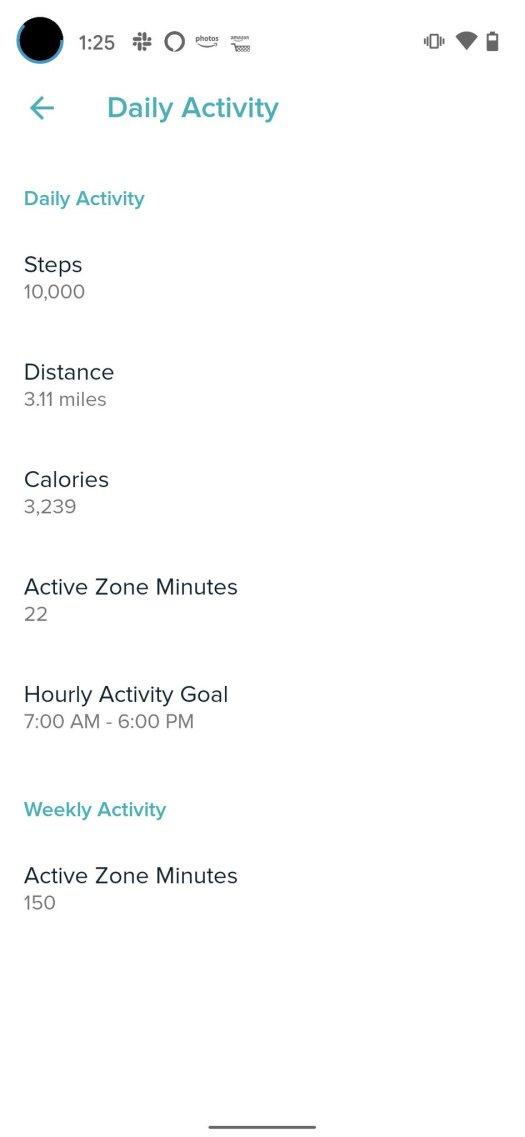 Fitbit Goals Step 4