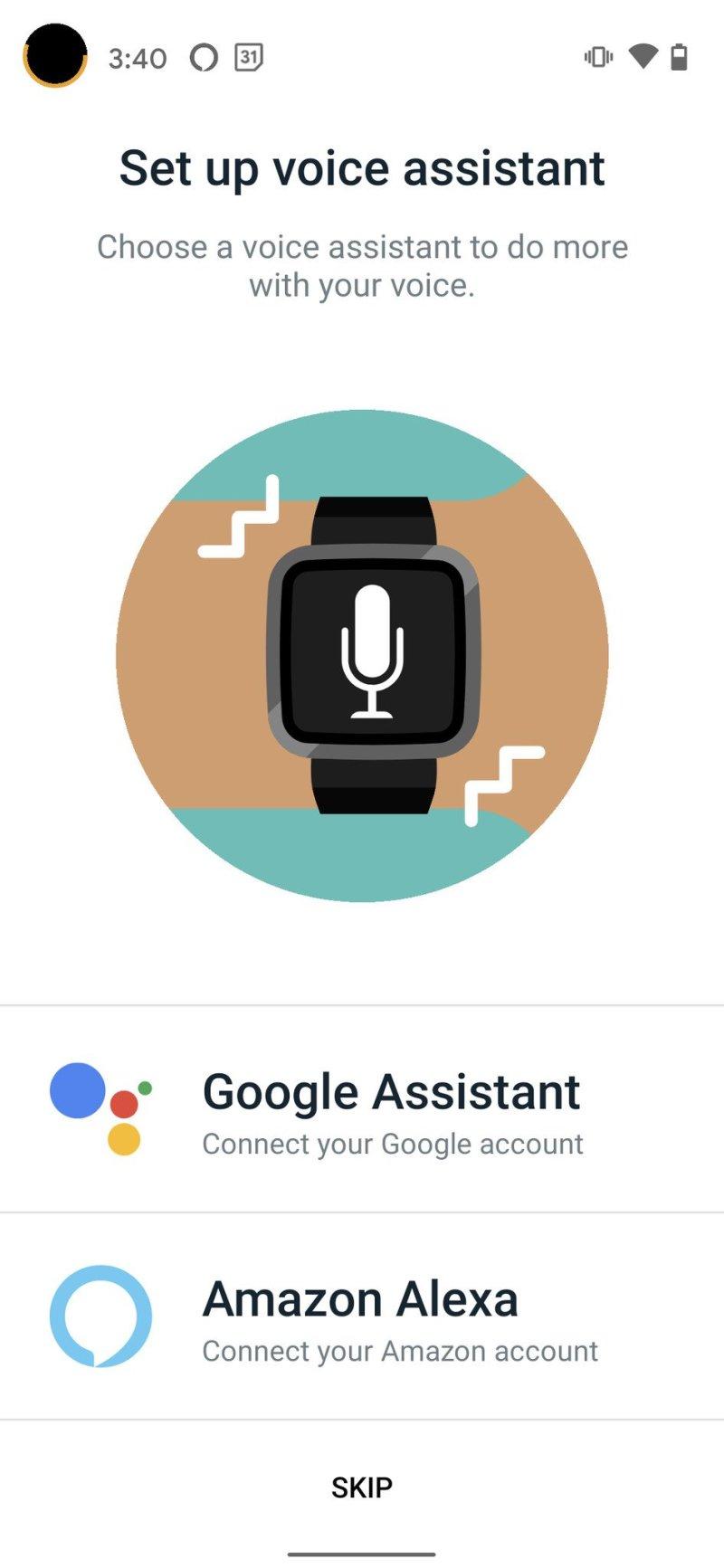 Fitbit Versa 3 Google Assistant 1 Step 3