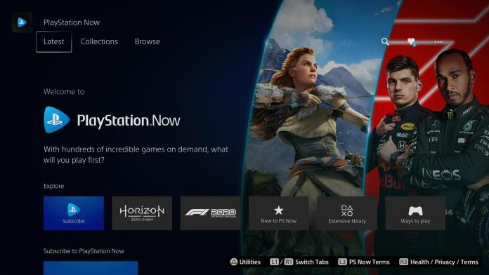 Ps Now Screen On Ps