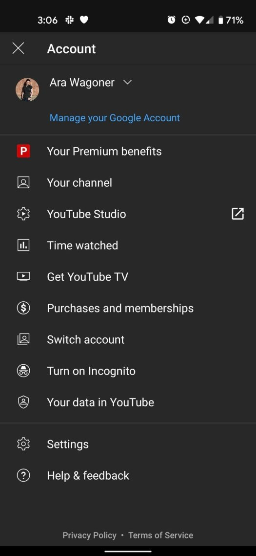 How to find YouTube Premium Stats