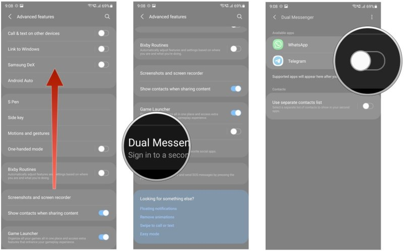 How to use Dual Messenger on your Galaxy phone