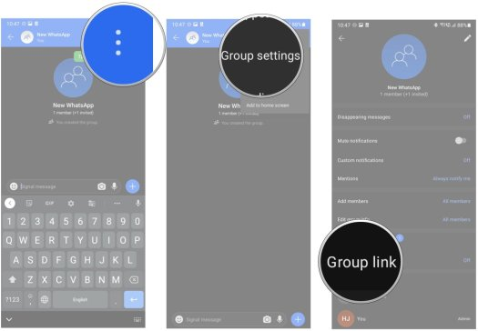 How to move your group chats from WhatsApp to Signal