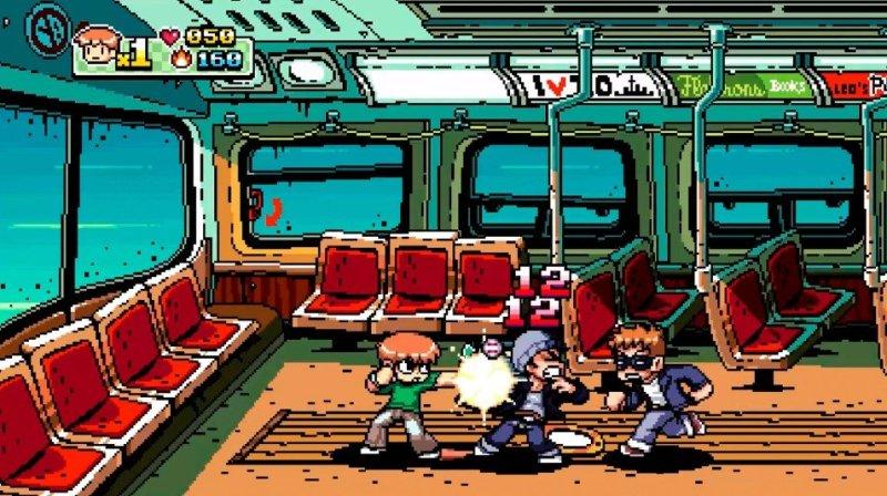 Scott Pilgrim Subway Car Level