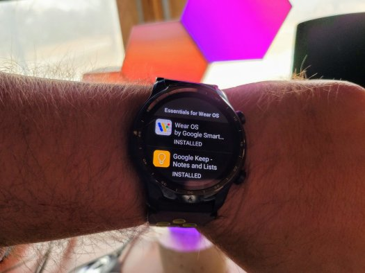 Ticwatch Pro 3 Play Store Lifestyle