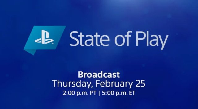 State Of Play Feb