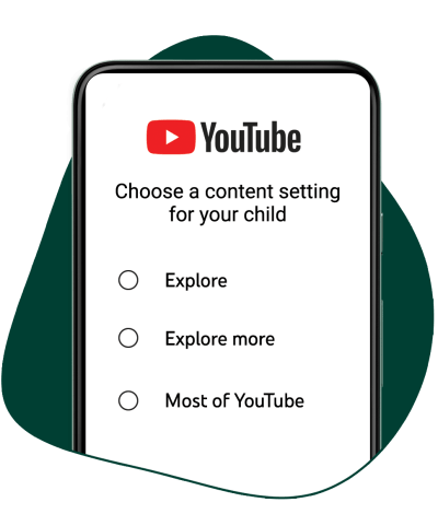 YouTube Supervised Accounts Selection