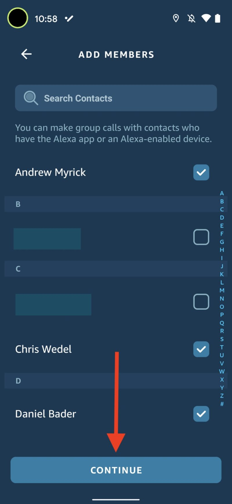 Alexa Group Calling 6