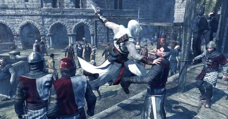 Assassins Creed Altair Kill