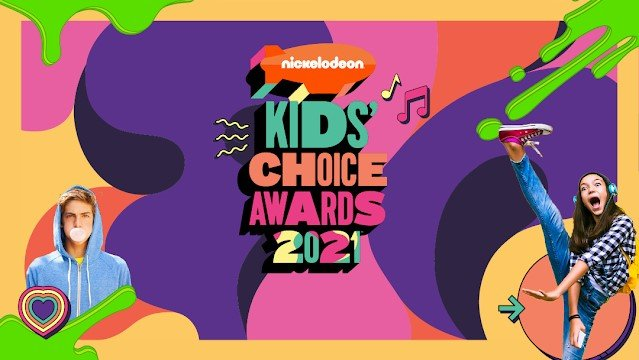 Kids Choice Awards 2021 Logo Nickelodeon Nick Kca V