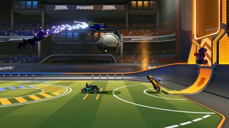 Rocket League Side Swipe Screenshot
