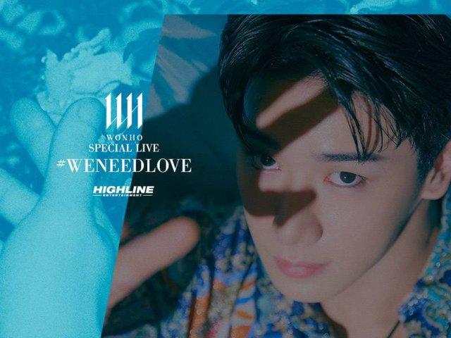 Wonho Special Live Weneedlove Hero