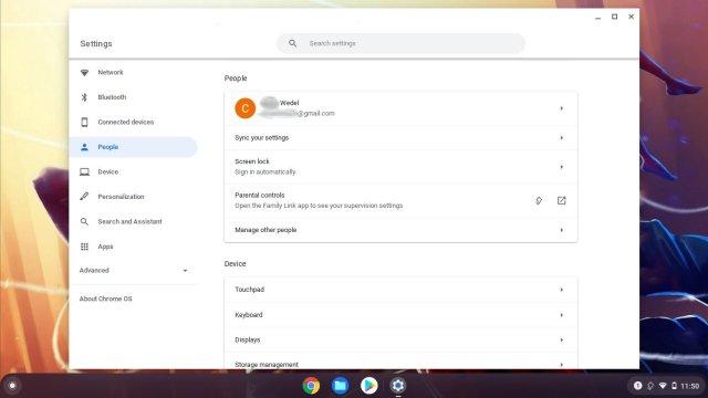 Chromebook Family Link Settings Student