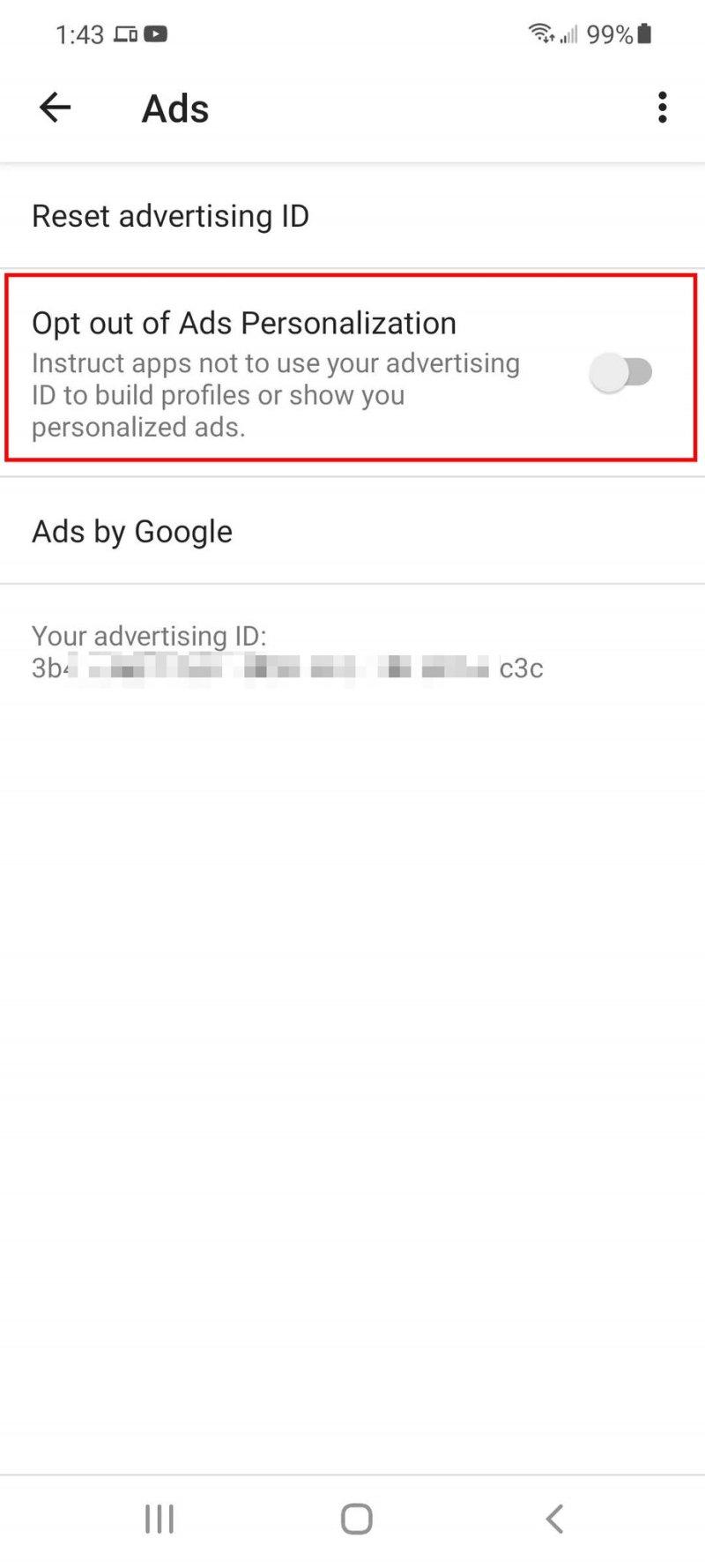 advertising ID