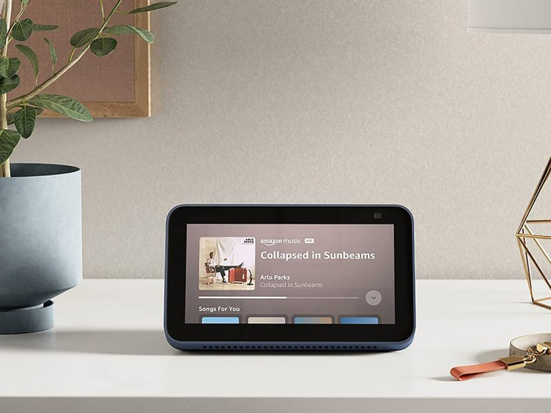 Amazon Echo Show 5 2nd Gen Stream Music