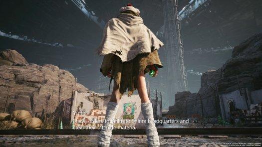 Final Fantasy 7 Remake Intermission Yuffie Mission